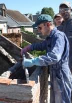 Journées Européennes du patrimoine : chantier-école à Suèvres avec MPF41