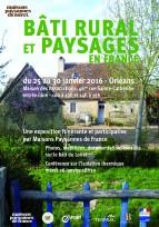 Expo et conférence sur le bâti rural - Orléans (45), du 25 au 30 janvier