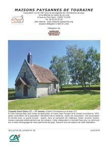 Bulletin mai 2018 Couverture