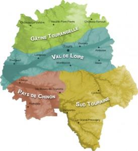 Les Pays de Touraine