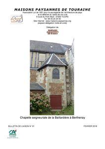 Bulletin février 2018 Couverture